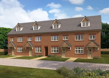 Thumbnail 4 bed terraced house for sale in Sanderson Manor, St Edmunds Way, Hauxton, Cambridge
