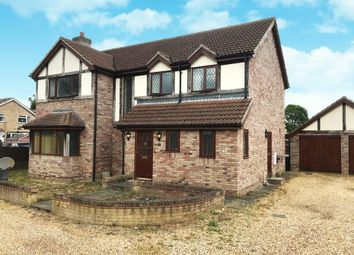 Thumbnail 4 bed detached house to rent in Station Road, Lakenheath, Brandon