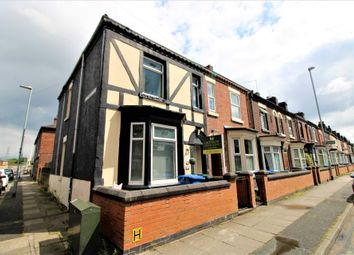 Thumbnail 3 bedroom end terrace house for sale in Campbell Road, Stoke-On-Trent