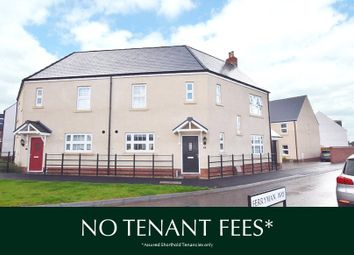 Thumbnail 3 bed semi-detached house to rent in Ferryman Way, Exeter
