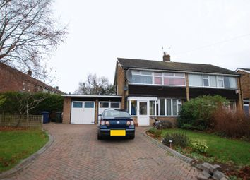Thumbnail 3 bed semi-detached house for sale in The Fairway, Gosforth, Newcastle Upon Tyne