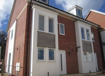 Thumbnail 3 bed semi-detached house to rent in Wesley Road, Cherry Willingham, Lincoln