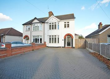 Thumbnail 3 bed semi-detached house for sale in Connaught Avenue, Grays