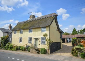 Thumbnail 4 bed detached house for sale in High Street, Barkway, Royston