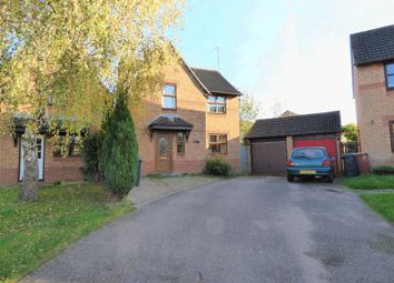 Thumbnail 3 bed detached house for sale in Beaune Close, Northampton