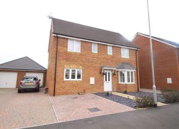Thumbnail 4 bedroom detached house for sale in Poppy Fields, Upper Stratton, Swindon