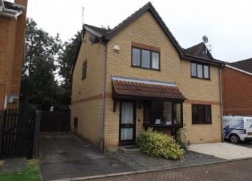 Thumbnail 2 bed semi-detached house to rent in Glemsford Rise, Orton Longueville, Peterborough