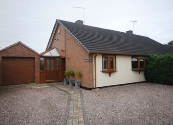 Thumbnail 1 bedroom semi-detached bungalow to rent in Grove Gardens, Market Drayton