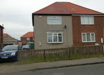 Thumbnail 2 bedroom semi-detached house to rent in William Morris Terrace, Shotton Colliery, Durham