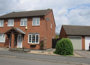 Thumbnail 3 bed semi-detached house for sale in Martin Drive, Syston, Leicester