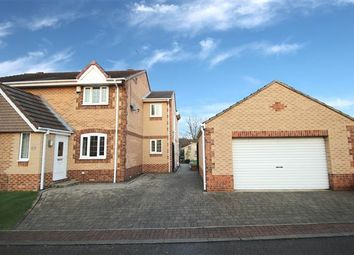 Thumbnail 3 bedroom semi-detached house for sale in Brooksfield, South Kirkby, Pontefract