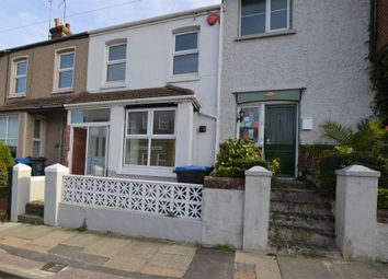Thumbnail 3 bed terraced house to rent in College Road, Margate