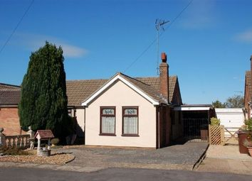 Thumbnail 2 bedroom semi-detached bungalow for sale in Tarrant Close, Moulton, Northampton
