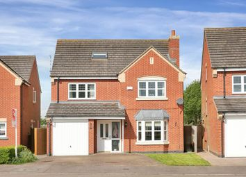 Thumbnail 6 bed detached house for sale in Durham Close, Melton Mowbray