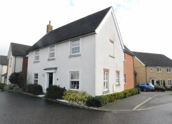 Thumbnail 4 bed detached house for sale in Sheerwater Way, Stowmarket