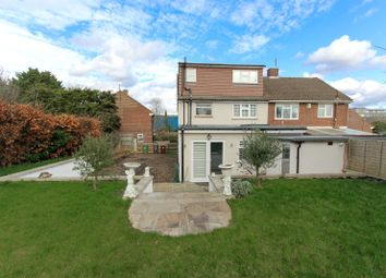 Thumbnail 3 bed semi-detached house for sale in Robin Hood Drive, Bushey, Hertfordshire