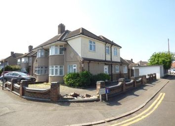 Thumbnail 4 bed semi-detached house for sale in Benhurst Avenue, Elm Park, Hornchurch
