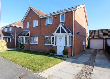 Thumbnail 3 bedroom semi-detached house for sale in Woodlands Drive, Barlby, Selby