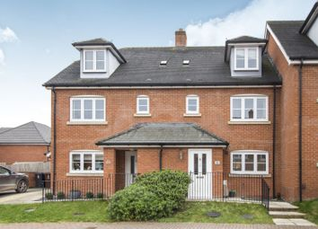 Thumbnail 4 bed terraced house for sale in Steeplechase Court, Andover