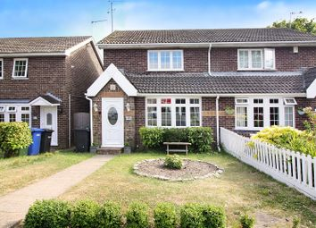 Thumbnail 2 bed semi-detached house for sale in Peregrine Way, Kessingland, Lowestoft