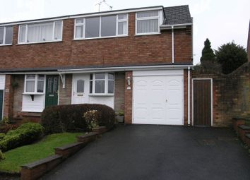 Thumbnail 3 bed semi-detached house for sale in Greenways, Halesowen