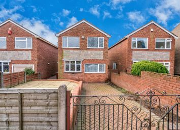 Thumbnail 3 bed detached house for sale in Church Hill, Hednesford, Cannock