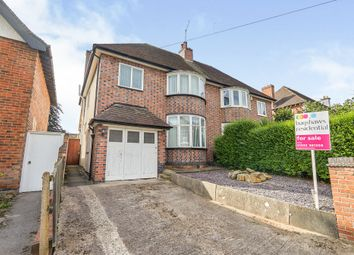 Thumbnail 3 bed semi-detached house for sale in Belper Road, Derby