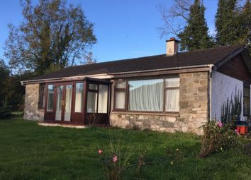 Thumbnail 3 bed detached bungalow to rent in Llanwrthwl, Llandrindod Wells