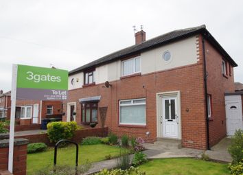 Thumbnail 2 bed semi-detached house to rent in Birch Avenue, Sunderland