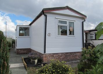 Thumbnail 1 bed mobile/park home for sale in Home Farm Park, Lea Green Lane (Ref 5989), Chruch Minshull, Nantwich, Cheshire, 6Ed