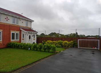 Thumbnail 3 bed semi-detached house for sale in Woodlea, Forest Hall, Newcastle Upon Tyne