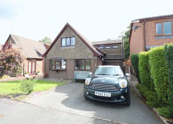 Thumbnail 4 bed detached house for sale in Denbigh Close, Knypersley, Stoke-On-Trent