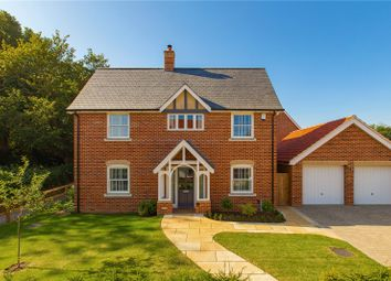 Thumbnail 4 bed detached house for sale in The Meadows, Wickhambrook, Newmarket, Suffolk