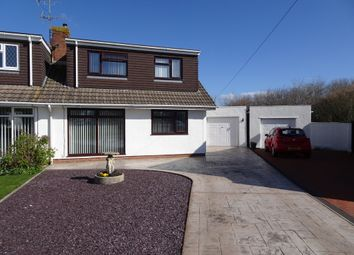 Thumbnail 3 bed semi-detached bungalow for sale in Summerfield Drive, Nottage, Porthcawl