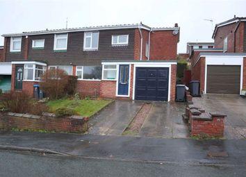 3 bed semi-detached house for sale in Fernwood Drive, Leek ST13