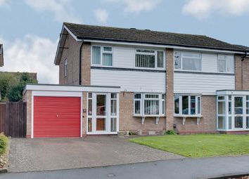 Thumbnail 3 bed semi-detached house for sale in Berkeley Close, Aston Fields, Bromsgrove