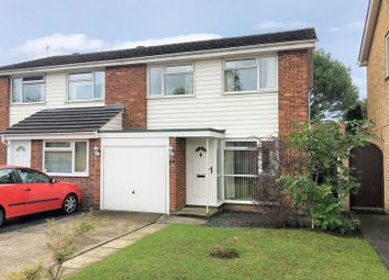 Thumbnail 3 bed semi-detached house for sale in Sharland Close, Grove, Wantage