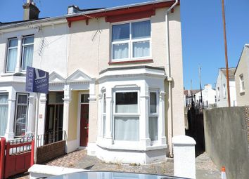 Thumbnail 4 bed end terrace house to rent in Wheatstone Road, Southsea
