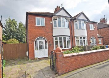Thumbnail 3 bed semi-detached house for sale in Mellington Avenue, East Didsbury, Manchester