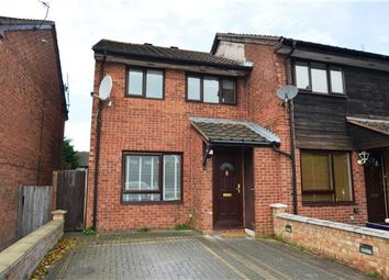 Thumbnail 3 bed end terrace house to rent in Rowlands Close, London