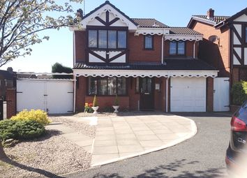 Thumbnail 4 bedroom detached house to rent in Shire Ridge, Waslall Wood