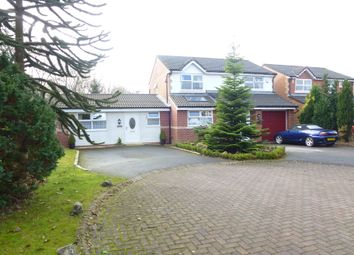 Thumbnail 5 bed detached house for sale in Woodvale, Leyland