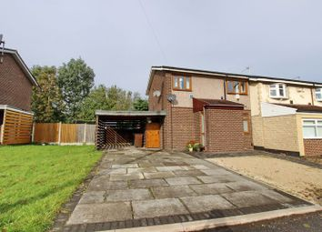 Thumbnail 3 bed end terrace house for sale in Derwent Close, Whitefield, Manchester