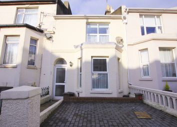 Thumbnail 2 bed terraced house for sale in Lower South Road, St Leonards-On-Sea, East Sussex.
