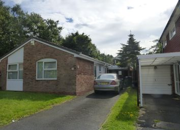 Thumbnail 2 bed detached bungalow to rent in St. Benedicts Close, West Bromwich