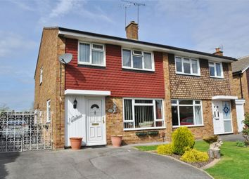 Thumbnail 3 bed semi-detached house for sale in Linnet Drive, Tile Kiln, Chelmsford, Essex