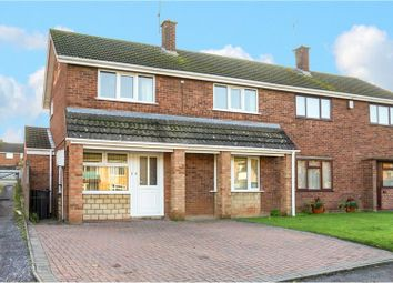 Thumbnail 3 bed semi-detached house for sale in Sheepscombe Drive, Worcester