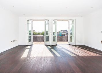 Thumbnail 2 bed flat to rent in Higham House West, 102 Carnwath Road, London