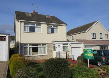 Thumbnail 3 bed detached house for sale in Gwenfo Drive, Wenvoe, Cardiff