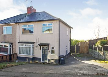 Thumbnail 3 bed semi-detached house for sale in Hollywell Avenue, Codnor, Ripley